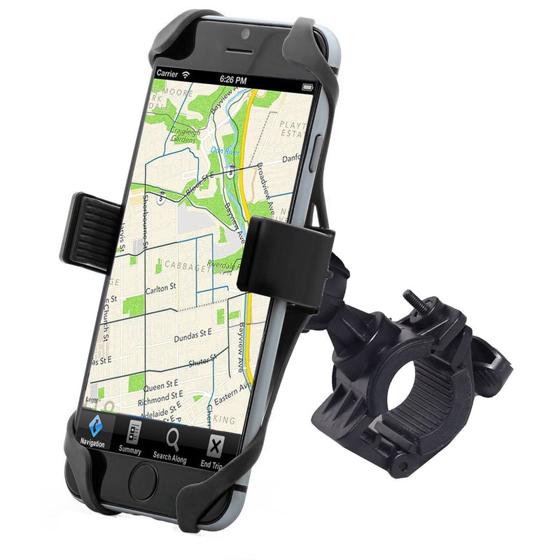 Universal SuperGrip Bicycle Mount - Holds Devices Up To 3.5in Wide