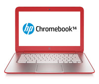 "HP Chromebook 14-q029wm - 14"" - Celeron 2955U Chrome OS 4GB RAM 16GB SSD in Red"