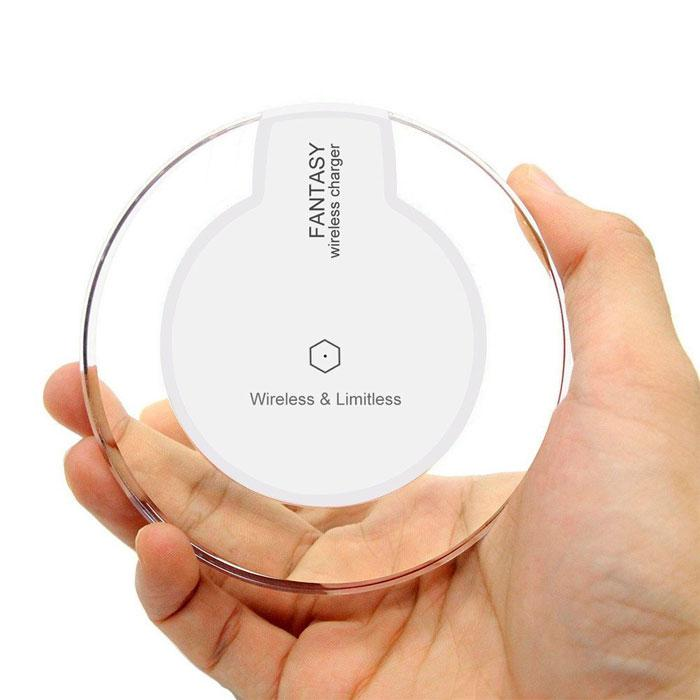 Crystal Qi Wireless Charging Pad for iPhone & Android