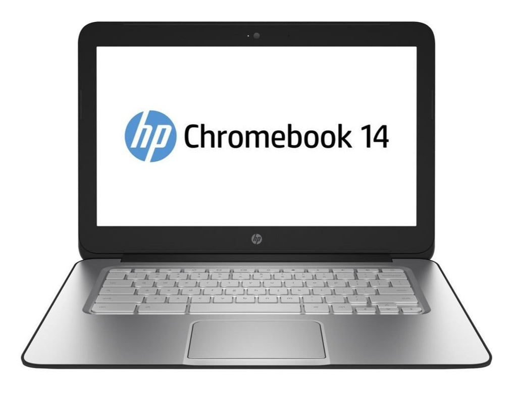 "HP 14 (J2L40UA#ABA) Chromebook Intel Celeron 2955U (1.40 GHz) 2GB 16GB SSD 14.0"" Chrome OS"