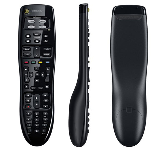 Logitech Harmony 350 Universal Remote Control - Control up to Eight Devices