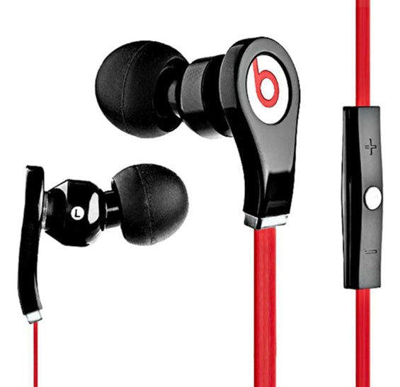 Beats Tour In-Ear Noise Isolating Headphones with In-line Control Black/Red