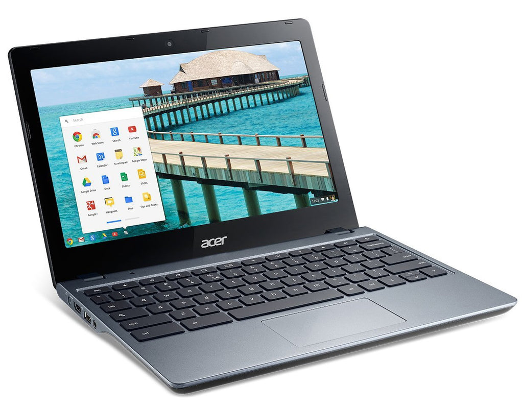 "Acer C720-2103 Celeron 2955U Dual-Core 1.4GHz 2GB 16GB SSD 11.6"" LED Chromebook"
