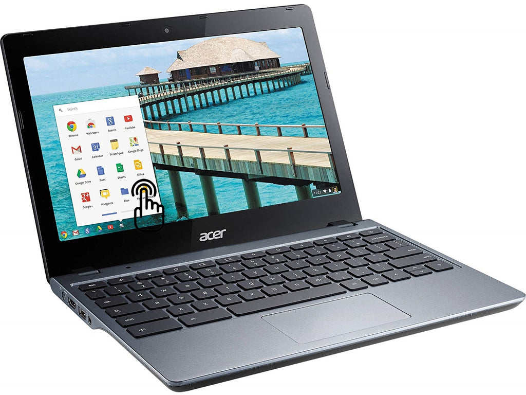 "Acer C720P-2625 Touchscreen  Dual-Core 1.4GHz 4GB 16GB SSD 11.6"" LED Chromebook"