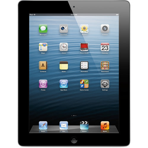 "Apple iPad 4th Gen 9.7""  32GB  Wi-Fi + Cellular in  Black MD523LL/A"