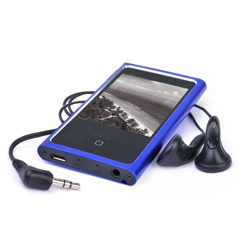 "Eclipse Touch Pro 4GB MP3 USB 2.0 Digital Music/Video Player w/FM & 2.4"" LCD (Cobalt)"