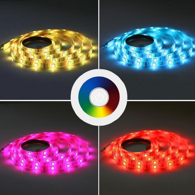 Smart Multicolored LED Light Strip WiFi Controlled - Unlimited Color Options