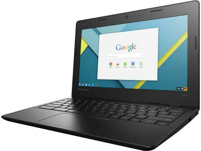 "Lenovo N21 Chromebook 11.6"" Intel Celeron 2.16 GHz 2GB 16GB SSD 80MG0000US Chrome OS"