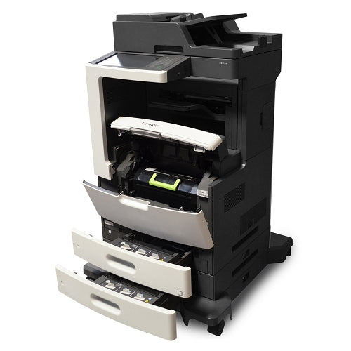 Lexmark MX810de USB 2.0/Gigabit Ethernet Multifunction Monochrome Laser Scanner Copier Fax Printer (No Toner)