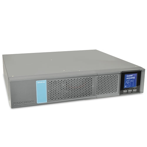 Socomec NETYS RT-120V 1000VA/900W 4-Outlet UPS Rack/Tower w/LCD Display - Professional Solution for IT Infrastructures