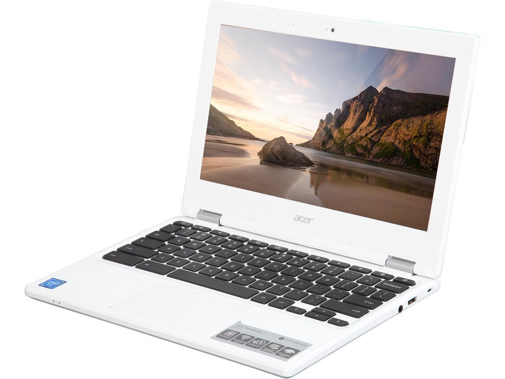 Acer Chromebook CB3-131-C3KD (2GB) White