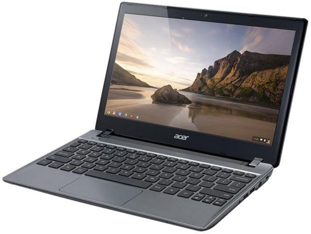 "Acer C710-2826 11.6"" Chromebook Intel Celeron 847 1.1Ghz 2GB RAM 16GB SSD Google Chrome OS"