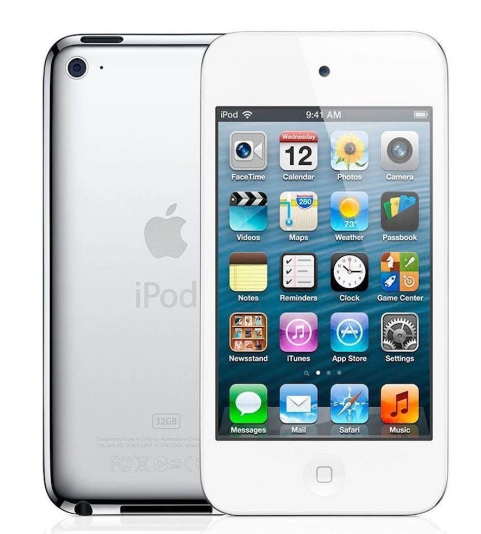 "Apple iPod Touch 4th Gen Wi-Fi w/3.5"" LCD & Dual Cameras"