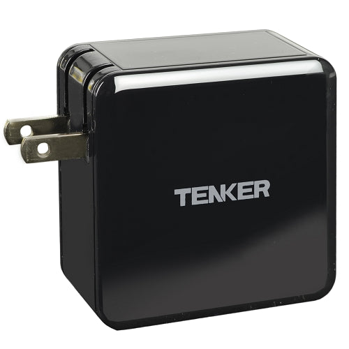 Tenker TA07E3 45W USB-C Charger w/1.8m USB Type-C Cable (Black)