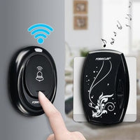36 Chimes LED Wireless Remote Control Waterproof Doorbell