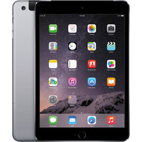 "Apple iPad mini 3 Gen 7.9"" Display 64GB Wi-Fi + Cellular in Space Gray MH372LL/A"
