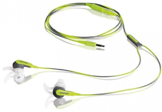 Bose SIE2I Sport Headphones in Green