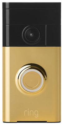 Ring Video Doorbell in Polished Brass
