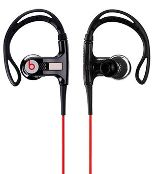 Powerbeats by Dr. Dre In-Ear Headphones in Black
