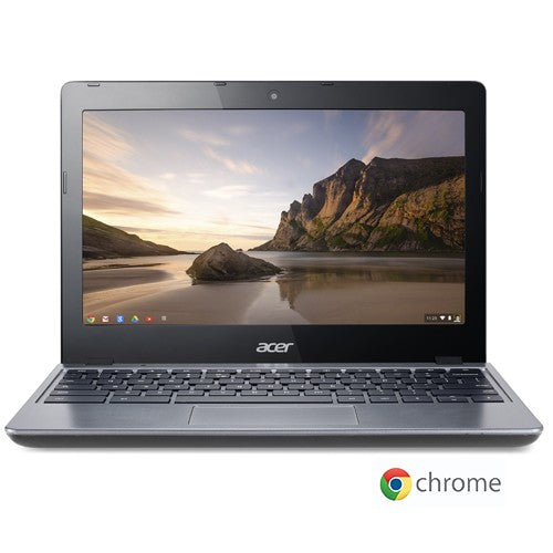 "Acer C720-2103 Celeron 2955U Dual-Core 1.4GHz 2GB 16GB SSD 11.6"" LED Chromebook Chrome OS w/Cam & BT"