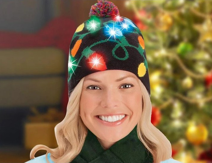 Light-Up Holiday Beanie