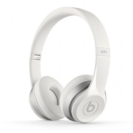 Beats Solo2 Wired On-Ear Headphones in White