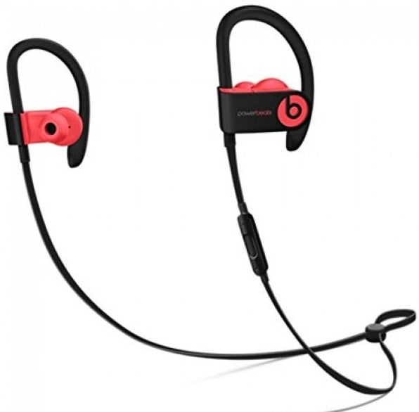 Powerbeats3 Wireless In-Ear Headphones in Black Red
