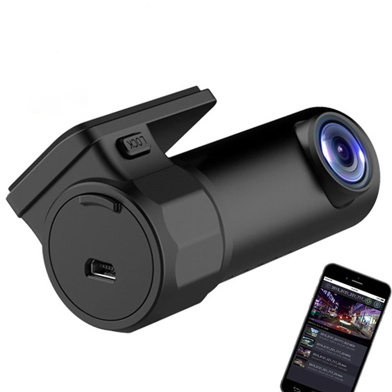 Full HD 152° WDR Car DashCam with G-sensor for Real Time Video