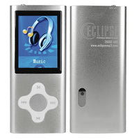 "Eclipse 200SL 4GB MP3 USB 2.0 Digital Music/Video Player & Voice Recorder w/Camera & 2.0"" LCD (Silver)"