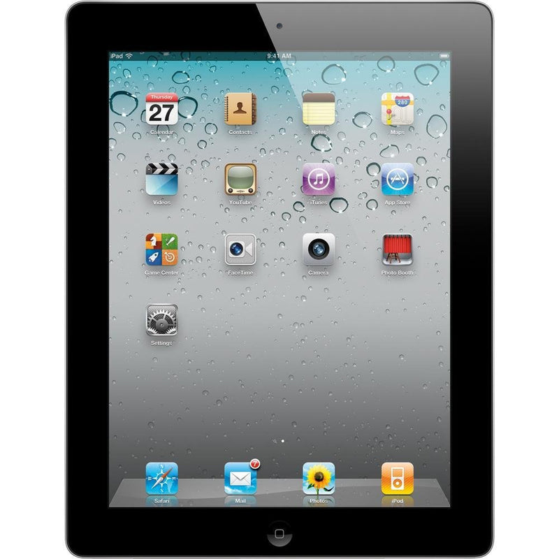 Apple iPad 2 MC916LL/A Tablet 64GB with Wi-Fi in Black