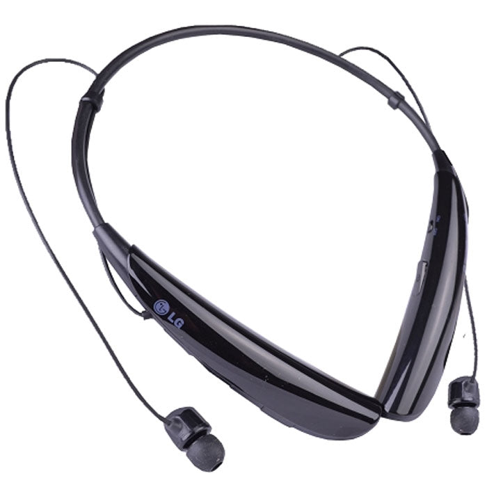 LG HBS-750 Tone Pro Wireless Bluetooth Stereo Headset - Magnetic Earbuds in Black
