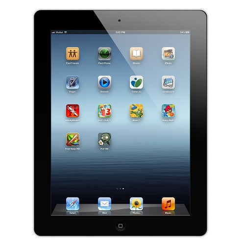 Apple iPad 2 with Wi-Fi 16GB  MC769LLA in Black - ENGRAVED