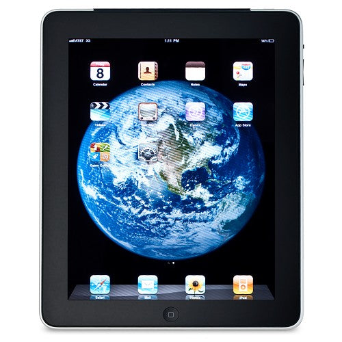 Apple iPad 64GB with Wi Fi 3G in Black AT&T (1st generation)