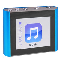"Eclipse Fit Clip Plus BL 8GB MP3 USB 2.0 Digital Music/Video Player w/1.8"" LCD & Pedometer (Blue)"