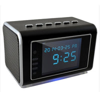 Foscam FHC52 Rechargeable Motion Detection Hidden Mini Camera Clock Radio w/DVR & 3.5mm Auxiliary Jack
