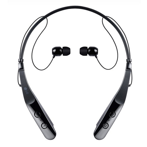 LG Tone HBS-510 Wireless Stereo Headset w/Microphone & Magnetic Earbuds in Black