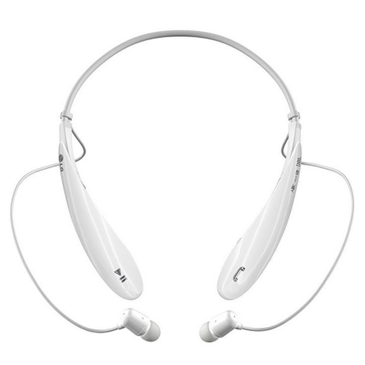LG TONE HBS-800 ULTRA Rechargeable Bluetooth Stereo Headset in White