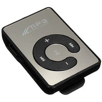 MP3 Player w/SD Card Expansion Slot & Mirror Front in Black