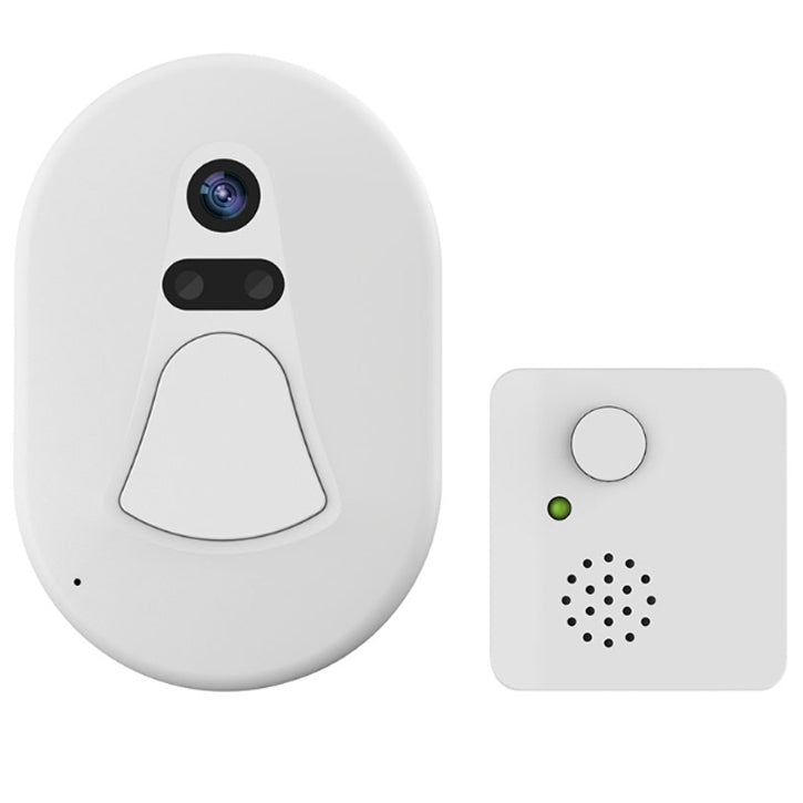 Smart WIFI Wireless Doorbell With 2.0MP Home Security Night Vision Snapshot Camera