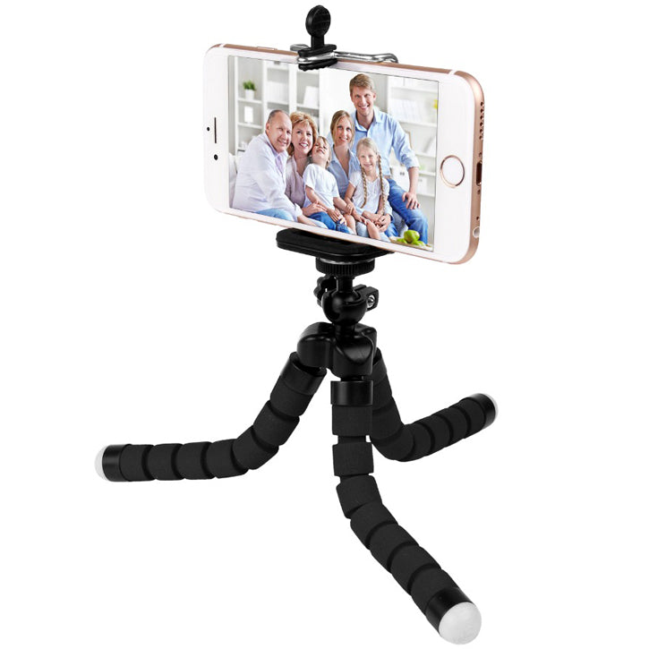 Mini Portable and Adjustable Tripod for Mobile Phones and Digital Cameras