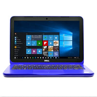 "Dell Inspiron 11 Celeron N3060 Dual-Core 1.6GHz 4GB 32GB eMMC 11.6"" LED Laptop W10H w/HD Webcam (Bali Blue)"