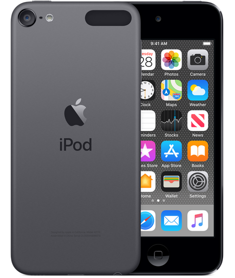 Apple iPod touch 6th Generation 32GB MP3 Player MKJ02LL/A in Space Gray