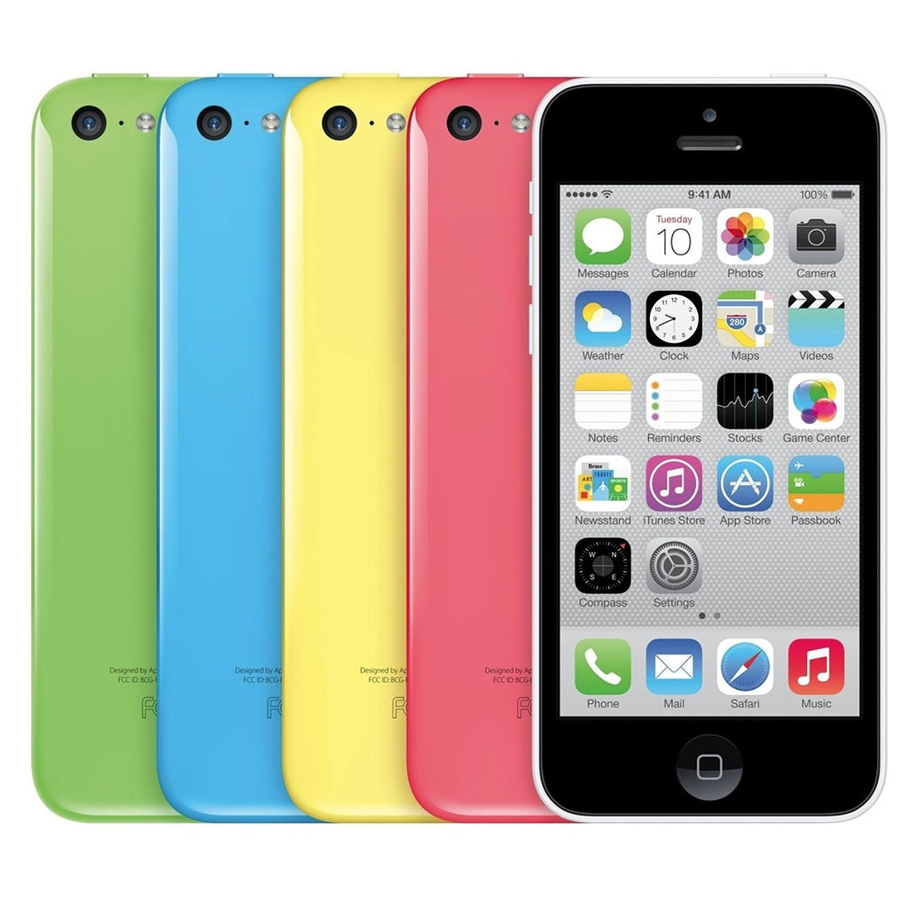 Apple iPhone 5C GSM Unlocked in Assorted Colors (16GB/32GB)