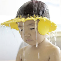 Baby Adjustable Shampoo Shower Bathing Protect Eye Ear Hat