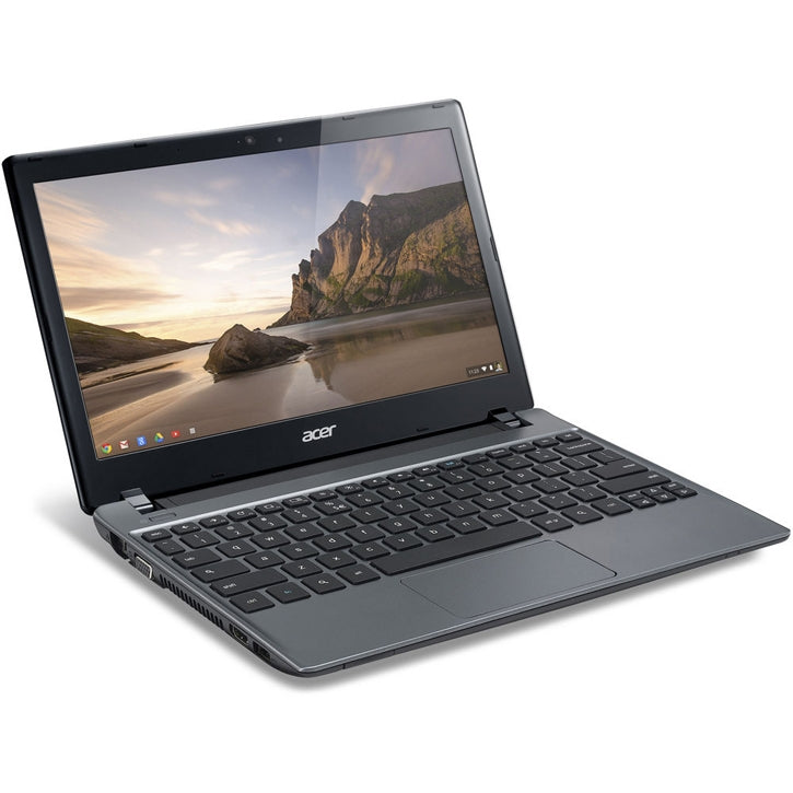 "Acer C710-2055 C7 Series 11.6"" 4GB Chromebook Computer in Iron Gray"