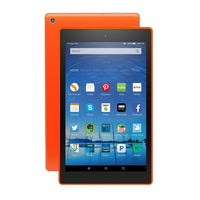 "Amazon Fire Tablet with Alexa 8"" HD Display 16GB 7th Gen in Tangerine"