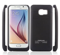 Battery Pack Case For Samsung Galaxy S6 Edge in Black