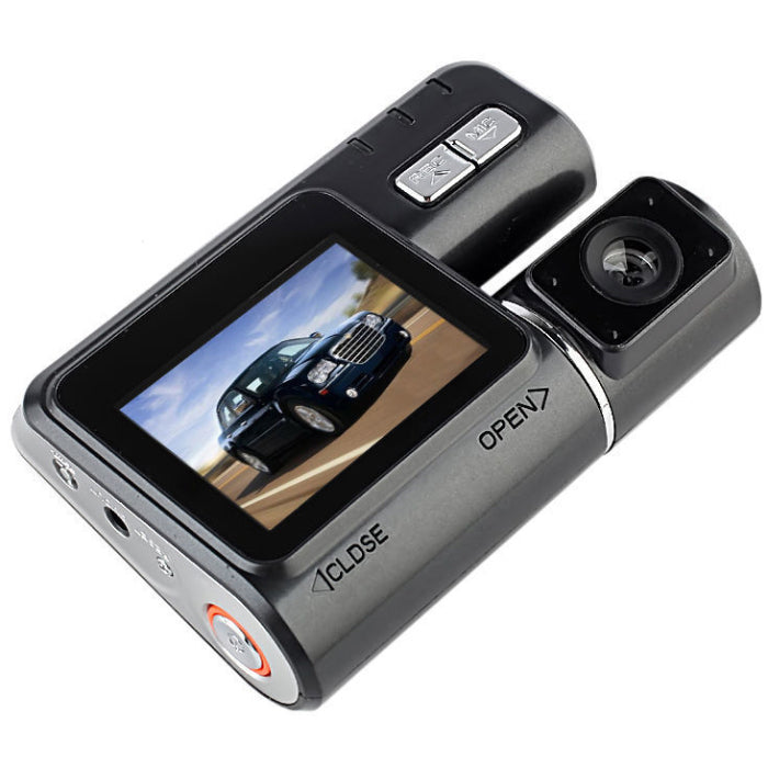 HD 120° Wide Angle Lens Car DashCam & DVR Recorder