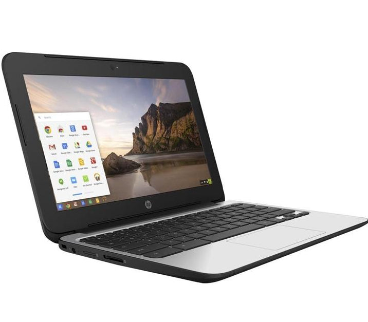 "HP 11 G4 Chromebook P0B78UT 11.6"" N2840 2.16ghz 4gb RAM 16gb SSD in Gray"