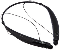 LG Tone Pro HBS-770 Wireless Stereo Headset w/Microphone & Retractable Earbuds in Black